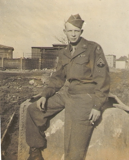 James Willard Haney during WW II